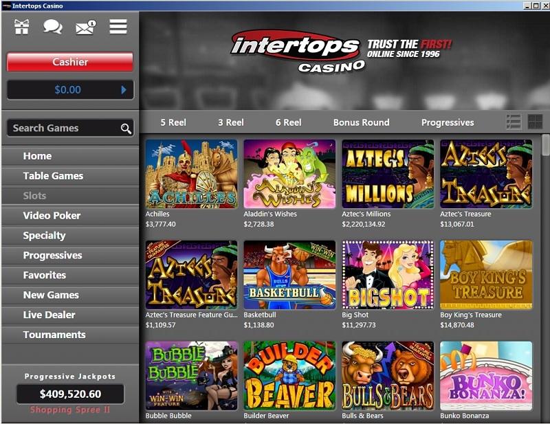 Intertops Casino Red Lobby