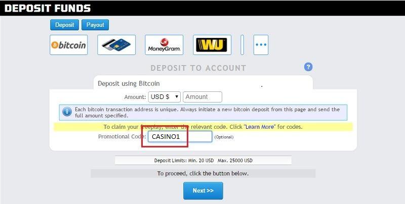 Sportsbetting ag Casino Promo Code, Rebate and Free Play Sep