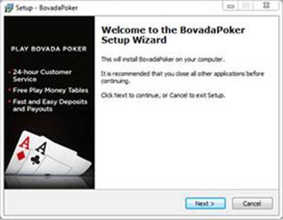 Bovada Poker Install