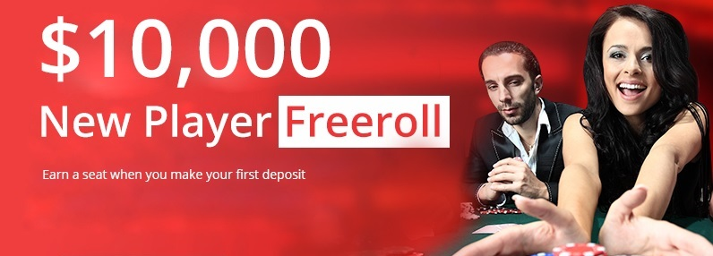 $10,000 New Player Freeroll