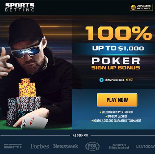 SportsBetting.ag Poker Bonus Code