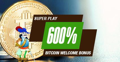 Cafe Casino Bonus Code: CCBITCOIN600