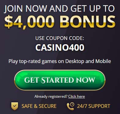Royal Ace Casino Bonus Code: CASINO400