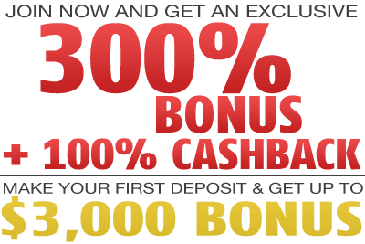 Red Stag 300% Deposit Bonus and 100% Cashback Bonus Code