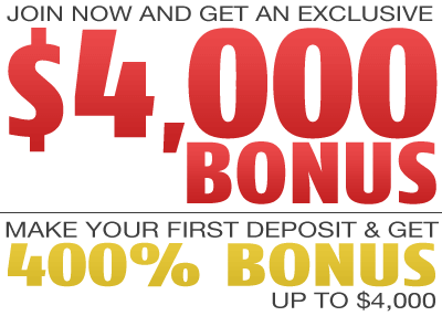 Red Stag 400% Signup Bonus Code