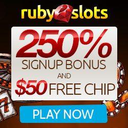 Ruby Slots No Deposit Promo Code