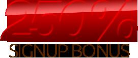 Ruby Slots 250% Deposit Bonus promo code