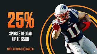MyBookie 25% Reload Deposit Bonus promo code