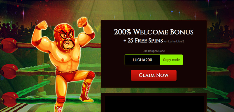 BoVegas 200% Deposit Bonus + 25 Free Spins coupon code