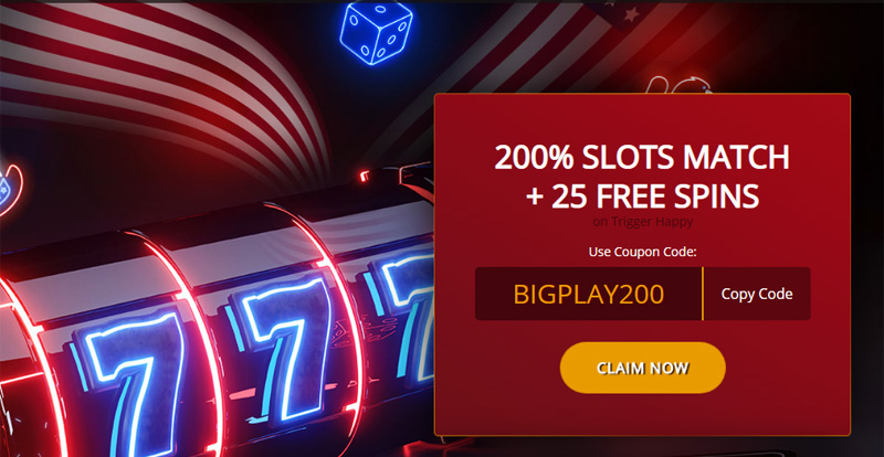 Cherry Slots Welcome Bonus 200% Slot Match and 25 Free Spins coupon code