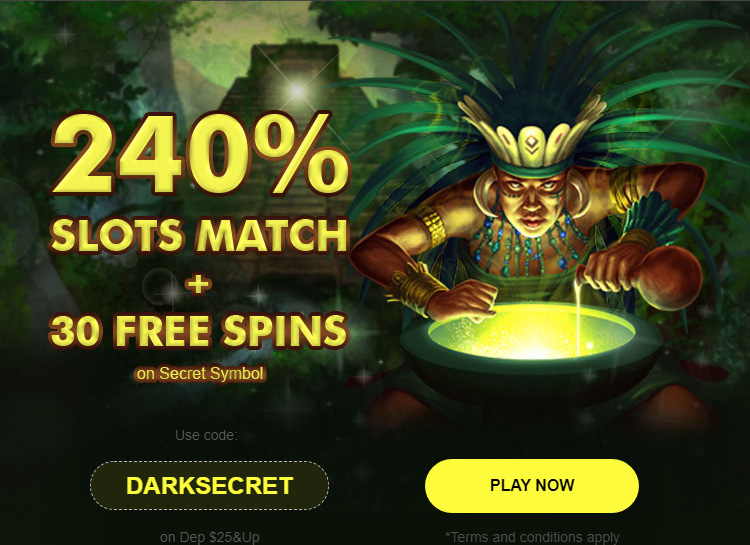 Cherry Gold Reload 240% Slots Match Bonus + 30 Free Spins coupon code