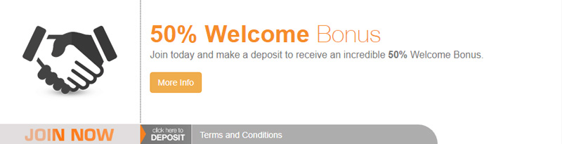 BetNow 50% Cash Bonus for Sportsbook & Casino USAPROMO coupon code