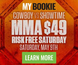 MyBookie UFC 249 Risk Free Bet!